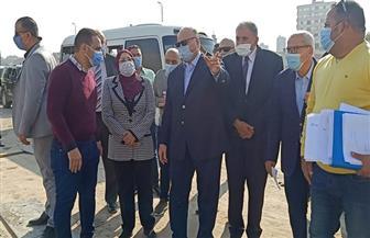 محافظ القاهرة يتفقد إزالة تعارضات توسعة الطريق الدائري في 3 أحياء