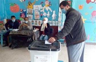 إقبال متزايد من الناخبين على لجان التصويت في ثاني أيام الإعادة بمطروح | صور