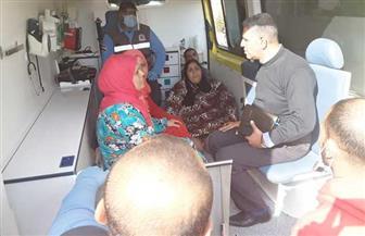 التضامن: دعم شهري 2000 جنيه للسيدة عزيزة وترميم منزلها وتحمل مصروفات تعليم نجلتها | صور