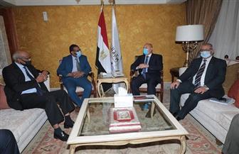 وزيرا النقل المصري والسوداني يترأسان أعمال الجمعية العمومية لهيئة وادي النيل للملاحة النهرية | صور