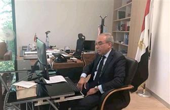 المندوب الدائم لدى الأمم المتحدة يلقي كلمة مصر بالمؤتمر الوزاري حول أفغانستان