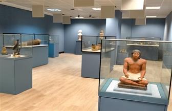 رئيس قطاع المتاحف يتفقد متحف مطار القاهرة الدولي | صور