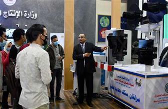إقبال كبير على معرض تكنولوجيا النقل على أول مزلقان سكك حديد مصر | صور