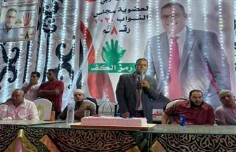 الكاتب الصحفي محمد زكي يواصل جولاته الانتخابية في الدائرة الثالثة بكفرالشيخ وسط دعم شعبي كبير | صور