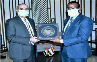 وزيرا الطيران والنقل السوداني يبحثان سبل التعاون بمجال النقل الجوي | صور