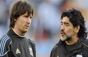 ميسي: «مارادونا» لم يتركنا لأنه خالد