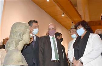وزيرة الثقافة تعيد افتتاح متحف الفن الحديث بعد تطويره.. واستقبال الجمهور مجانا | صور