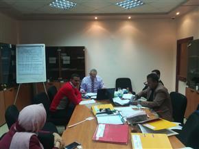 مركز تدريب مياه سوهاج يحصل على شهادة الأيزو 9001 | صور