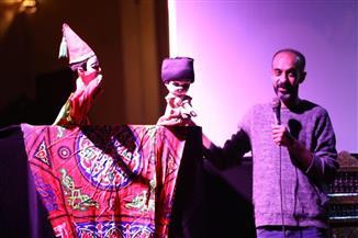 حضور مميز لسيد حجاب في ثاني أيام مهرجان الأراجوز  صور