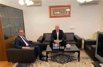 السفير المصري بالبوسنة والهرسك يناقش مع ممثلي شركات السياحة سبل التعاون بين البلدين | صور