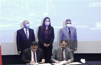 وزيرا التخطيط والنقل يشهدان توقيع بروتوكول للتعاون التعليمي والتدريبي