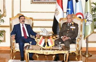 الفريق أول محمد زكي يلتقى وزير الدفاع العراقي خلال زيارته الرسمية لمصر| صور