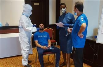 مسحة طبية للاعبي المقاولون استعدادا لمواجهة أرتا سولار بالكونفيدرالية | صور