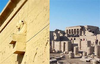 عبقرية المصري القديم.. كيف واجه معبد دندرة الطقس السيىء فى الصعيد ؟| صور