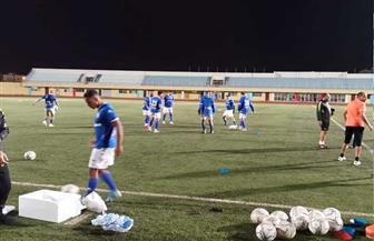 المقاولون العرب يؤدى مرانه الرئيسى على ملعب مباراة الكونفدرالية