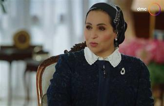 انتصار السيسي: الرئيس السيسي يقدر المرأة المصرية كثيرا.. ويهتم بممارسة الرياضة