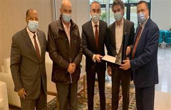 جمعية المصريين في سويسرا واتحاد الجاليات في أوروبا يكرمان السفير علاء يوسف| صور