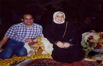 حوار انتصار السيسي يعرض صورا نادرة  للرئيس وعائلته