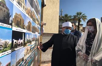 وزيرا الأوقاف والهجرة ومحافظ دمياط يفتتحون 3 مساجد في المحافظة بتكلفة 26 مليون جنيه  فيديو