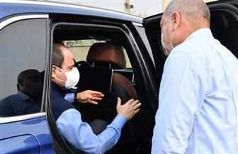 الموقع الرئاسي ينشر فيديو لتفقد الرئيس السيسي العمل بمشروعات تطوير شبكة الطرق بالقاهرة