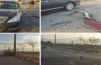 الصور الأولى من موقع محاولة اغتيال العالم النووي الإيراني في طهران