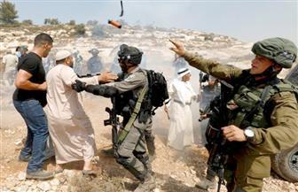 إصابة 7 فلسطينيين بالرصاص والعشرات بالاختناق شرق نابلس