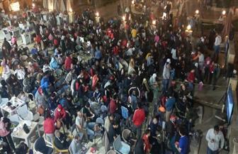 مصر تكتسي باللون الأحمر بعد تتويج الأهلي بلقب أبطال إفريقيا