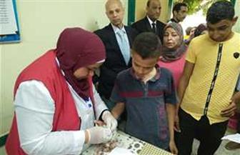 انطلاق مبادرة الكشف عن فيروس سي لطلاب الصف الأول الإعدادى بمدارس مطروح
