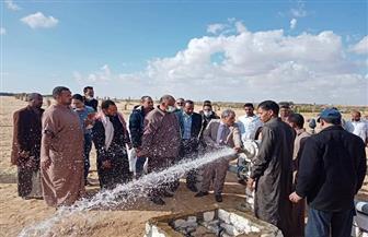 رئيس جهاز تحسين الأراضي يبحث مطالب أهالي سيوة بمحافظة مطروح|صور