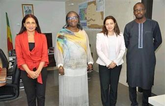 سفير مصر في داكار تلتقي وزيرة البترول والطاقة السنغالية لبحث سُبل تعزيز التعاون