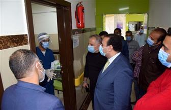 نائب محافظ الأقصر يتفقد مستشفى العديسات للعزل بمركز ومدينة الطود | صور
