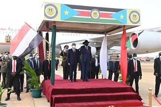 """""""نهر النيل يجب أن يكون مصدرا للتعاون والتنمية"""".. تعرف على أبرز ما جاء فى كلمة الرئيس السيسي مع سلفا كير"""