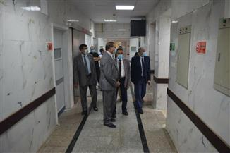 رئيس جامعة سوهاج يتابع الاستعدادات النهائية لافتتاح قسم جراحة القلب والصدر | صور