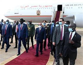 ما المكاسب التي حققتها زيارة الرئيس السيسي «التاريخية» لجنوب السودان؟