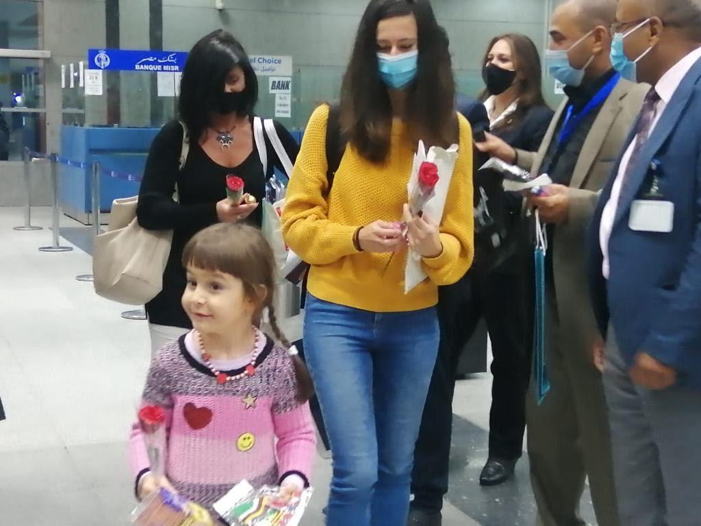 وصول أولى رحلات خط مصر للطيران بين بودابست والغردقة