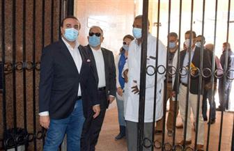 نائب محافظ الأقصر يتفقد سير الأعمال بمستشفى الكرنك الدولي | صور