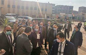 وصول وزيرة التضامن إلى الشرقية لزيارة دار بسمة للإيواء | صور