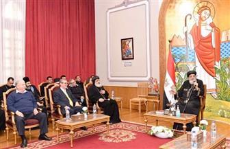 البابا تواضروس يلتقي أعضاء هيئة تدريس الإكليريكية| صور