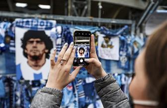 """بطولة الأرجنتين: بوكا جونيورز يحيي ذكرى مارادونا في """"لا بومبونيرا"""" أمام دموع ابنته"""
