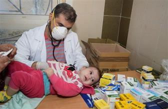 قافلة من جامعة المنوفية تقوم بالكشف على 700 مريض من أهالي كفر الخضرة | صور