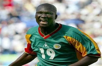 وفاة بابا ديوب محرز هدف السنغال الافتتاحي في مونديال 2002