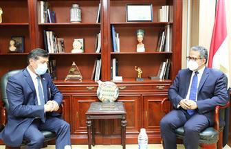 وزير السياحة والآثار يستقبل سفيرى دولتي المجر وأوزبكستان فى القاهرة| صور