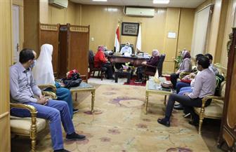نائبة محافظ الوادي الجديد تلتقي وفد الهيئة القومية للاستشعار عن بُعد| صور
