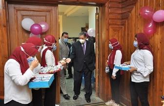 التربية الرياضية بكفر الشيخ تنظم حفل استقبال للطلاب الجدد بحضور رئيس الجامعة | صور