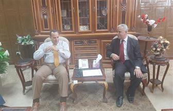 محافظ شمال سيناء يستقبل وفد جامعة العريش | صور