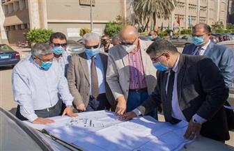 رئيس جامعة طنطا يتفقد الإنشاءات الجديدة بكلية الهندسة   صور