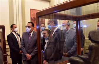 رئيس الوزراء يتفقد أعمال تطوير مبنى متحف البريد المصري التاريخي بالعتبة | صور