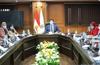وزير الرياضة يترأس اجتماع اللجنة العليا لرعاية واكتشاف المواهب | صور