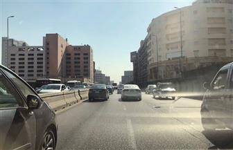 النشرة المرورية: كثافات مرورية متوسطة وإصابة شخص في تصادم بصلاح سالم| صور