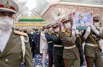 بدء مراسم تشييع العالم النووي الإيراني فخري زاده في طهران